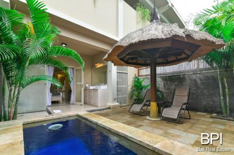 Garden pool villa for sale 1 bali real estate by bpi for Garden pool for sale