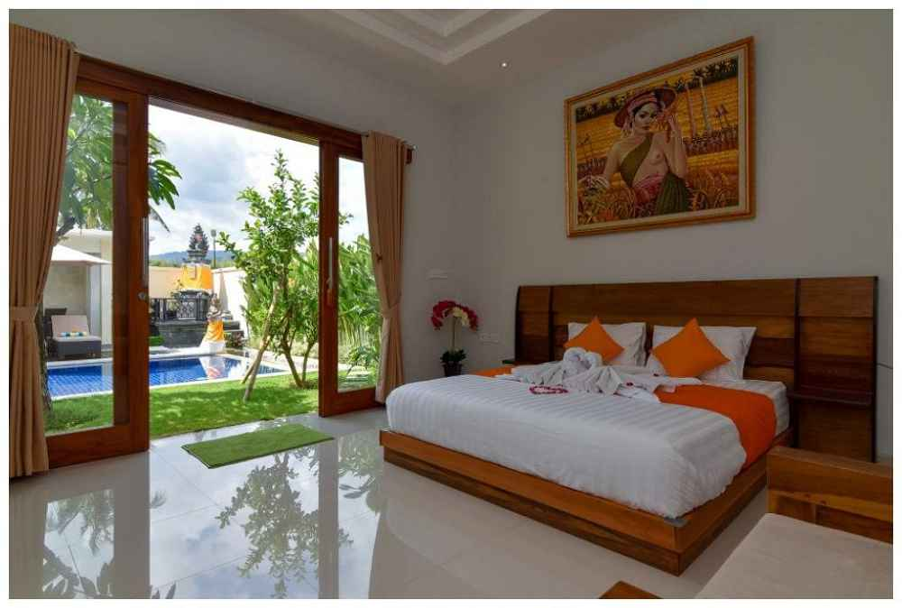 Banyu Riris Rental Bedroom With A View