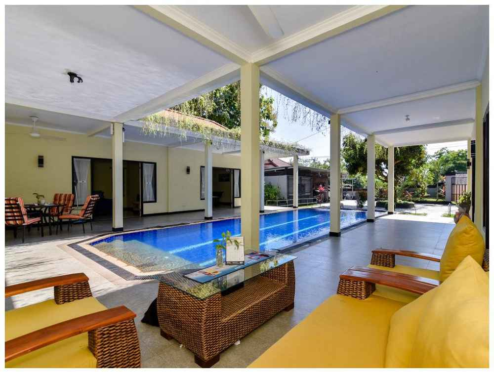 Villa Anggrek Rental Pool Terrace