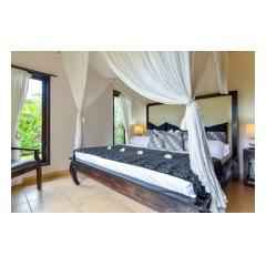 Bedroom Two One - Palm Living Bali Long Term Villa Rentals