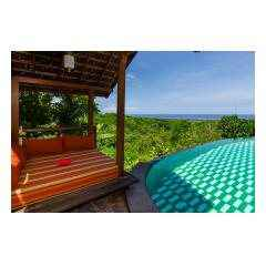 Pool Gazebo - Palm Living Bali Long Term Villa Rentals