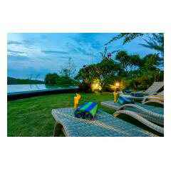 Pool Twilight - Palm Living Bali Long Term Villa Rentals
