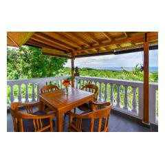 Balcony - Palm Living Bali Long Term Villa Rentals