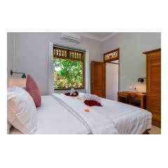 Bedroom View Two - Palm Living Bali Long Term Villa Rentals