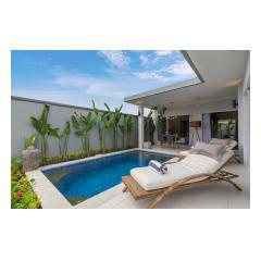 Sunbeds - Palm Living Bali Long Term Villa Rentals