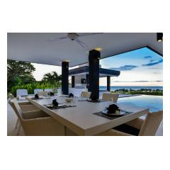 Dining Outside - Palm Living Bali Long Term Villa Rentals