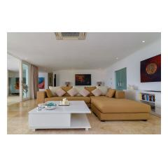 Living Seating - Palm Living Bali Long Term Villa Rentals