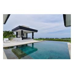 Pool Pavillion - Palm Living Bali Long Term Villa Rentals