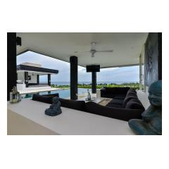 Terrace - Palm Living Bali Long Term Villa Rentals
