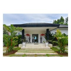 Villa Entry - Palm Living Bali Long Term Villa Rentals