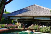Beachfront Villa With Lumbung For Sale