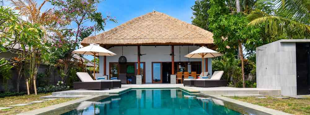 Bali Villa Building Development Architecture Palm Living