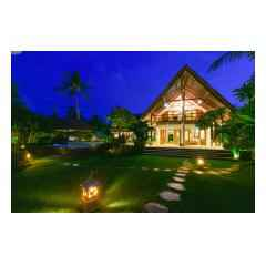 By Night - Bali Villa Construction and Development - Palm Living Bali