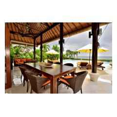 Terrace Dining - Bali Villa Building and Development - Palm Living Bali