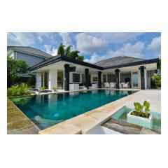 Pool View - Bali Villa Construction and Development - Palm Living Bali