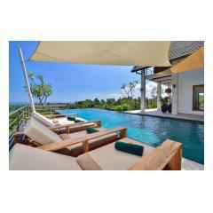 At The Pool - Bali Villa Building and Development - Palm Living Bali