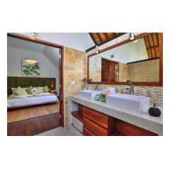 Bed And Bathroom - Bali Villa Building and Development - Palm Living Bali