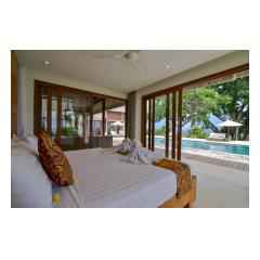 Bedroom And Pool - Bali Villa Building and Development - Palm Living Bali