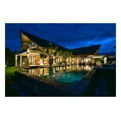 By Night - Bali Villa Building and Development - Palm Living Bali